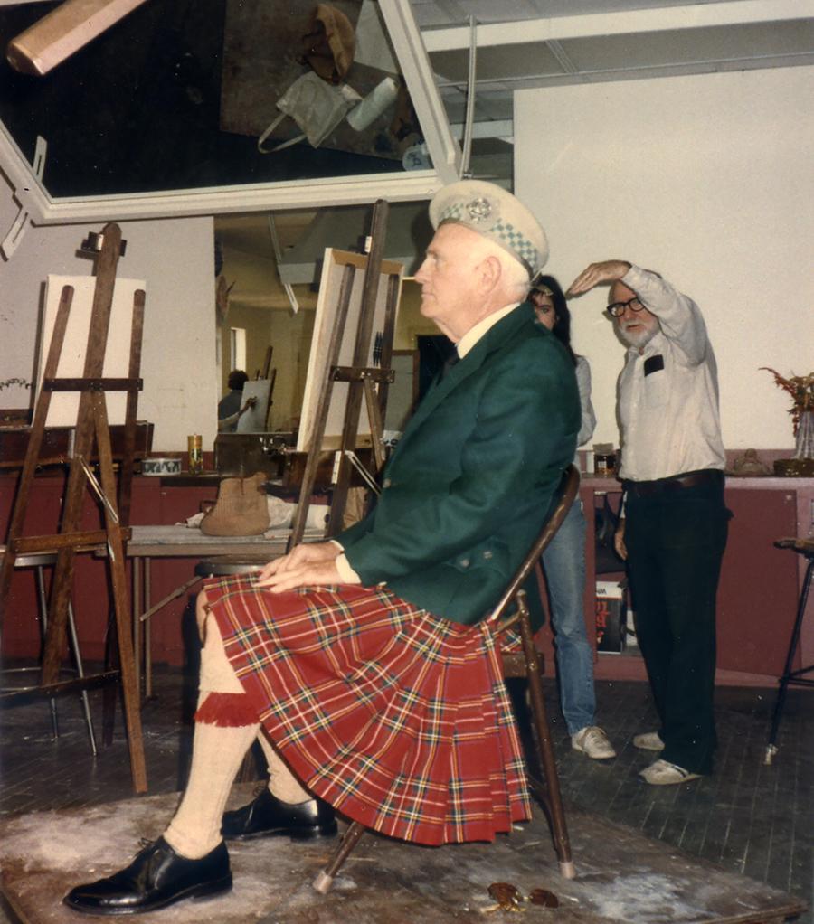 Chuck Whitehead Class, 1985