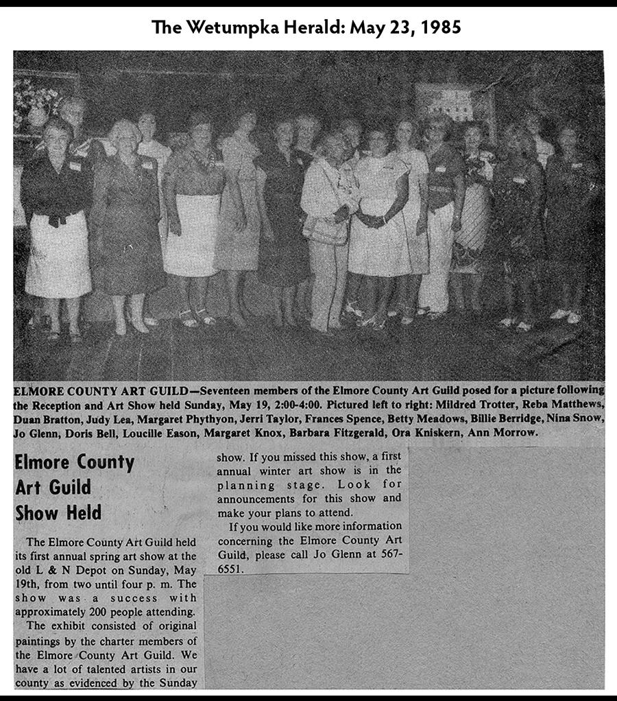 1985 Annual Show